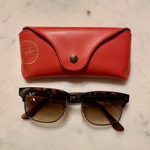 Ray-ban Men's Clubmaster Sunglasses_Polarized